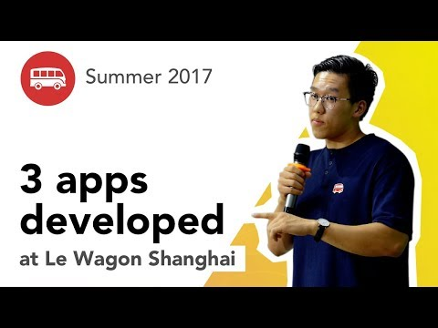 3 apps developed at Le Wagon Shanghai - Batch #90