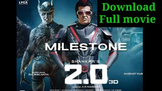 Akshay Kumar and Rajnikanth film 2.O full movies available download now | 2.O | Rajnikanth | Alshay|
