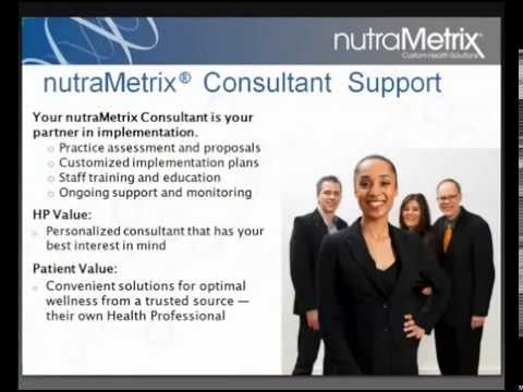 nutraMetrix for Licensed Health Professional Introduction