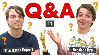 First Q&A | The Oscar Expert