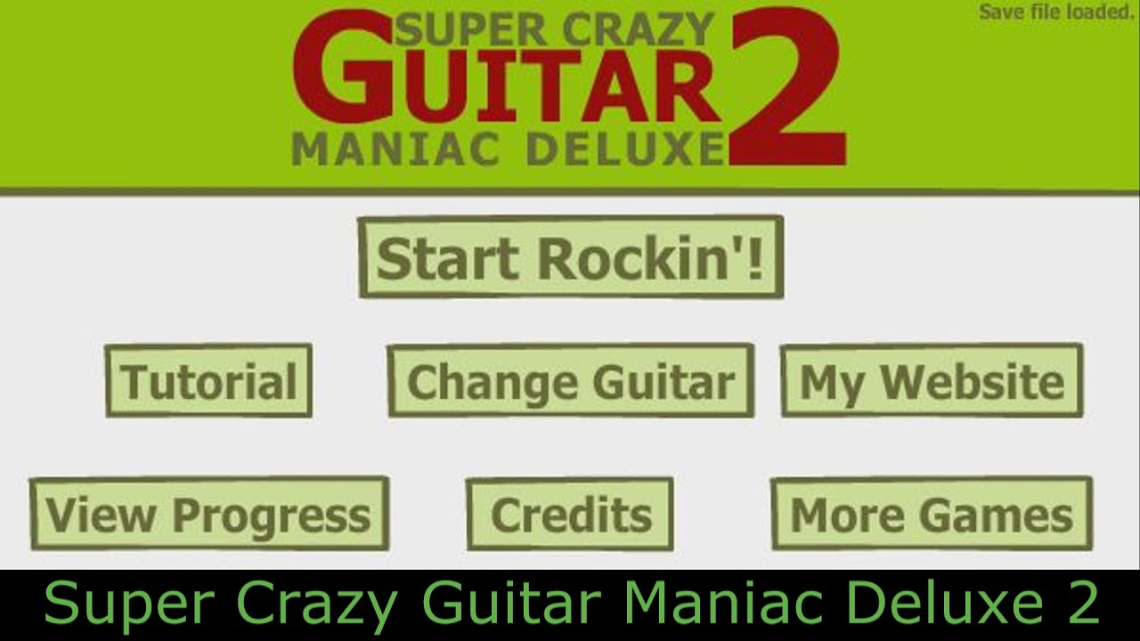 Super crazy guitar maniac deluxe 3 newgrounds dating