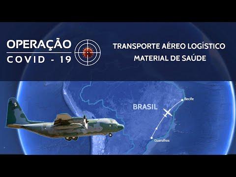 OPERAÇÃO COVID-19: Transporte Aéreo Logístico