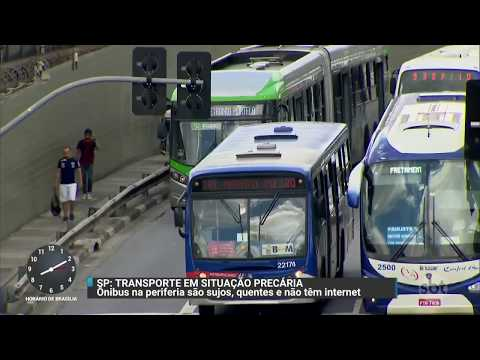 Qualidade da operação dos ônibus na cidade de SP tem queda  | Primeiro Impacto (16/10/17)