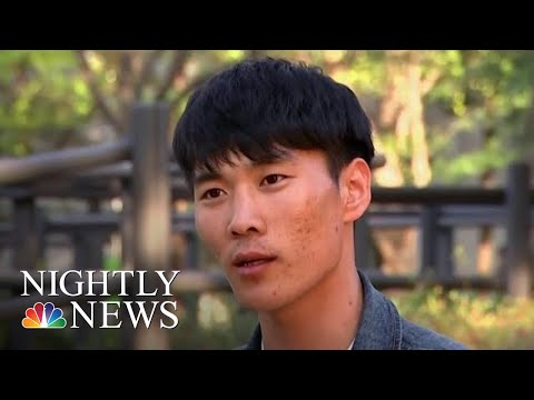 North Korean Defector Whose Escape Went Viral Speaks Out In U.S. TV Interview | NBC Nightly News