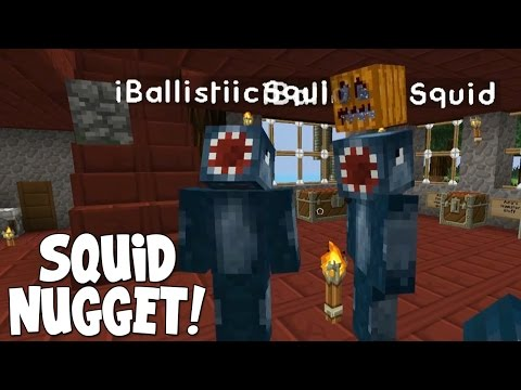 Minecraft - Attack Of The B Team - SQUID NUGGET'S!! [29]