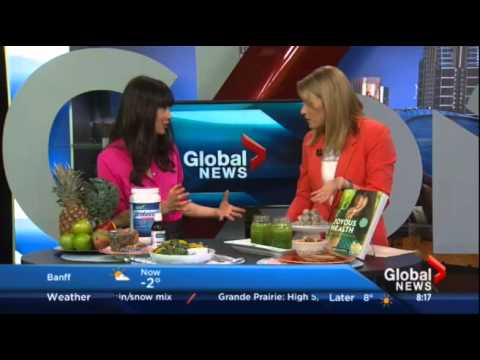 Joy visits Global Morning Show Calgary!