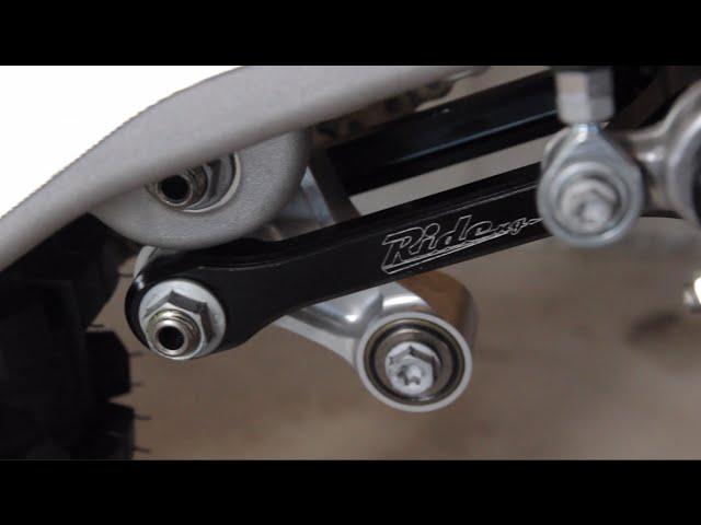 JBone Motorworks 2016 KTM 150SX Factory Bike Build - Episode 4 Ride Engineering Lowering Link