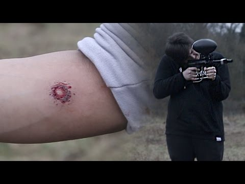 PAINTBALL ROULETTE! *RUPTURED SKIN*