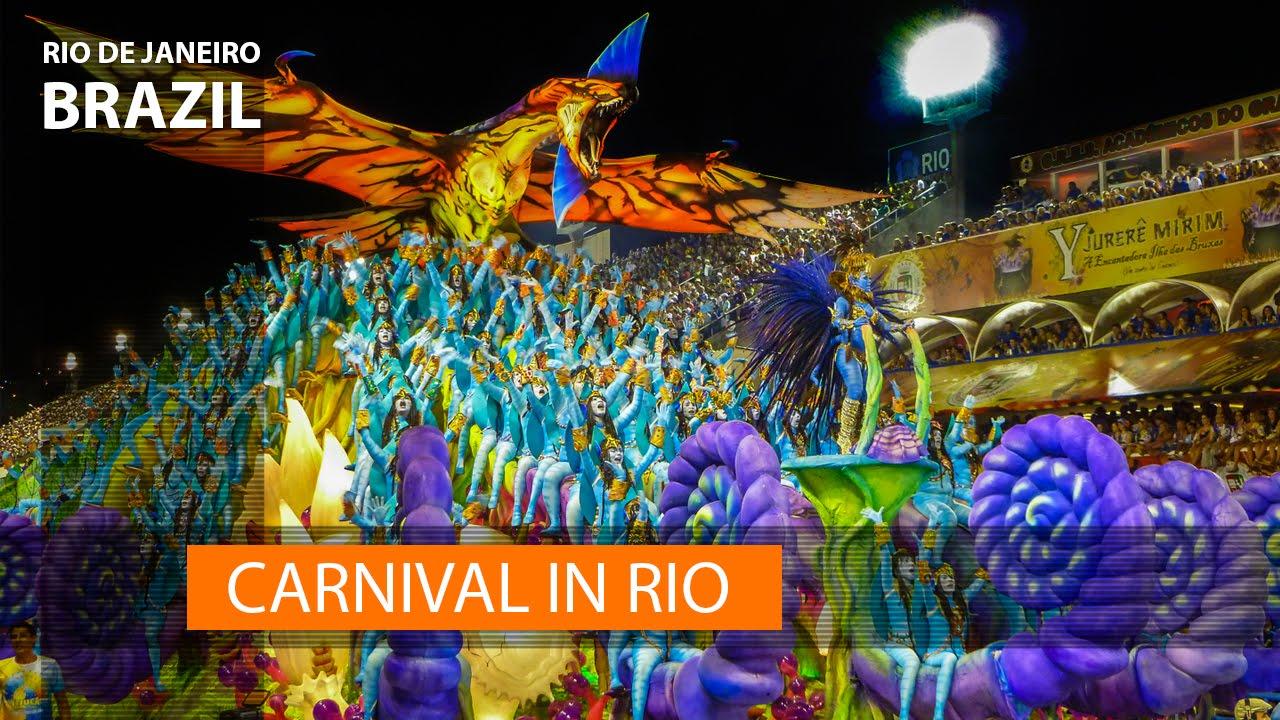 brazil carnival the rio de janeiro parade in 1 minute youtube