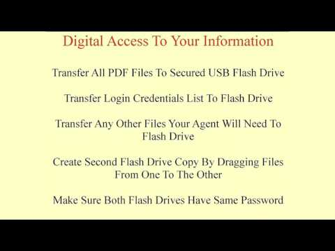 Estate Planning Solutions for Families, Course 6: Securing Your Information