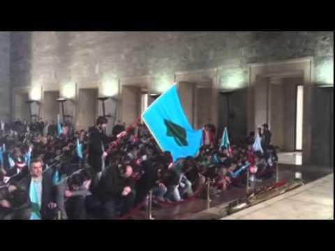 Tanrıdağlı Bozkurtlar Başbuğ Atatürk'ün Huzurunda!
