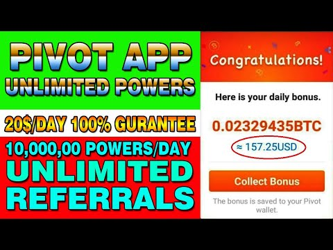 Latest Earning Trick To Increase Unlimited Power In Pivot App | PIVOT App Payment Proof | Hindi