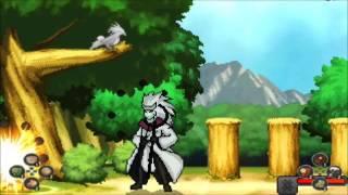 Naruto Mugen - Madara Rikudou vs Naruto e Sasuke