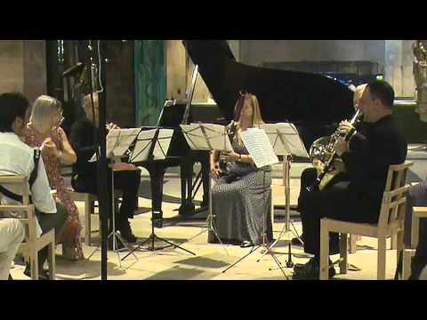 Beethoven Wind Quintet Op. 71 1st Movt.   Aquillos Ensemble