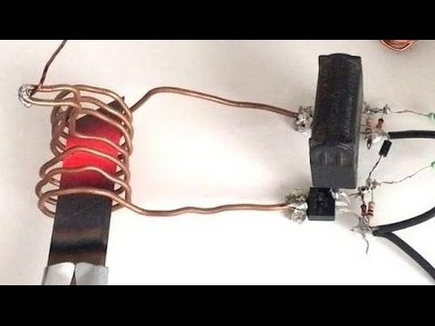 DIY | How to Make INDUCTION HEATER at