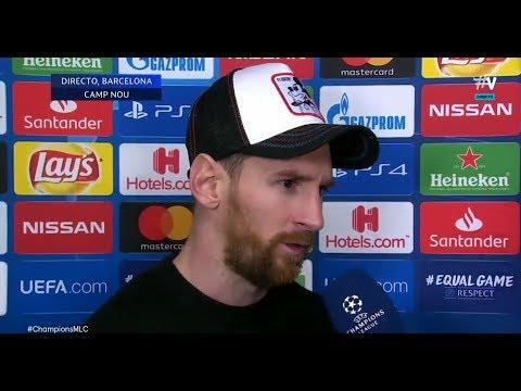 """Messi: """"Lo de Cristiano y la Juventus fue impresionante\"""