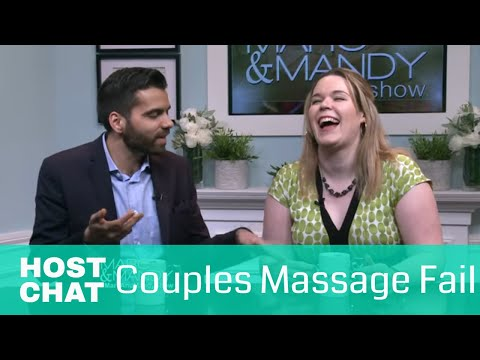 Couples Massage Fail | Marc and Mandy Show