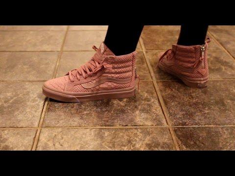 32f9f8a74f VANS SK8-HI Shoes (Black) -  REVIEW  - Action.News ABC Action News ...