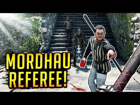 We Found A Referee In Mordhau! (Duels Gameplay)