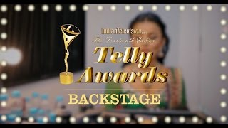 Backstage with Mahima Makwana at The 14th Indian Telly Awards 2015