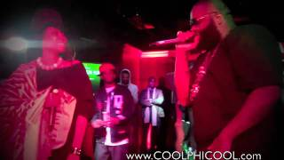 "Rick Ross & Erykah Badu ""Window Seat"" Live Performance (Heineken) Washington DC"