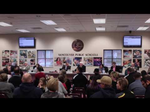 Vancouver School District Board Meeting - 3/14/17