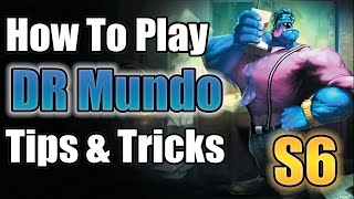 DR MUNDO Tips & Tricks: The NEVER Dying GOD - League of Legends - LoL