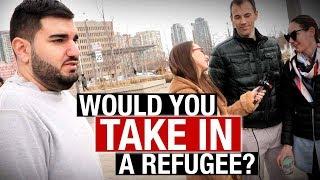 "Torontonians eager to take refugees into their homes — until they meet ""Moe"" | Jessica Swietoniowski"
