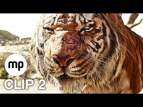 DISNEY'S THE JUNGLE BOOK Film Clip 2: Shere Khan (2016)