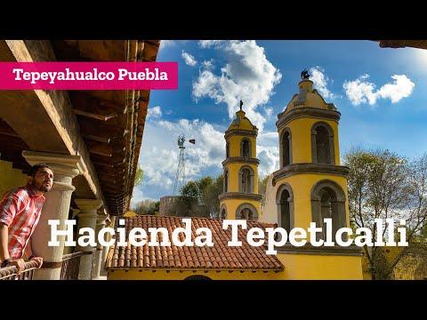 Hotel Museo Hacienda Tepetlcalli en Tepeyahualco Puebla