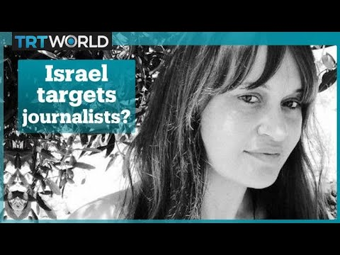 Journalist Tanya Habjouqa wounded by Israeli soldiers in the occupied West Bank