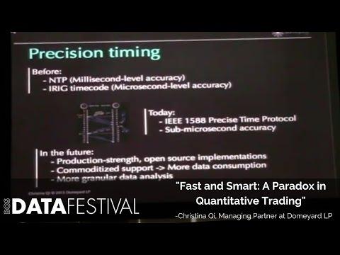"Christina Qi at BDF 2015 | ""Fast and Smart: A Paradox in Quantitative Trading"""