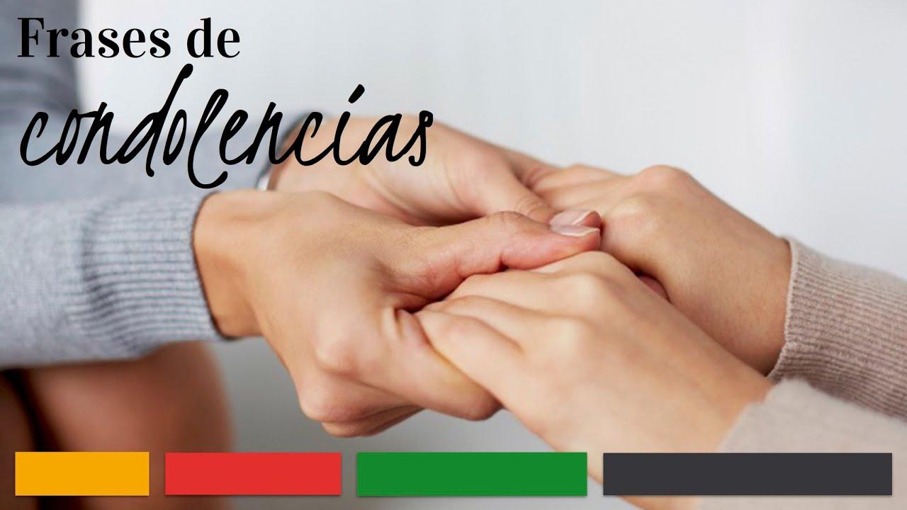 50 Frases De Pésame Para Dar Condolencias Citas Y Vídeo