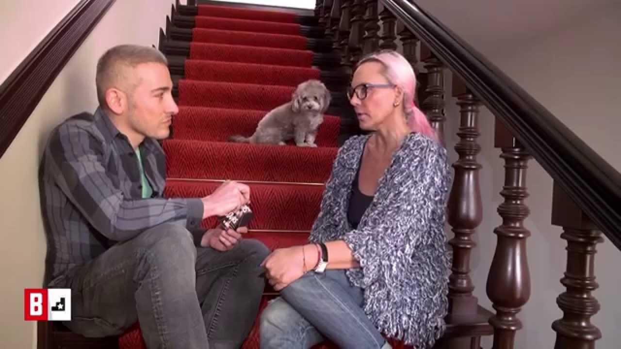 BUNTE TV - StarsOnStairs: Natascha Ochsenknecht