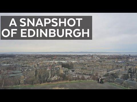 A Snapshot of Edinburgh