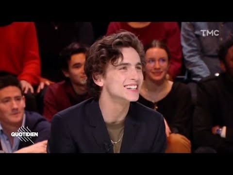 Timothée Chalamet Pronouncing His Name For Almost 2 Minutes