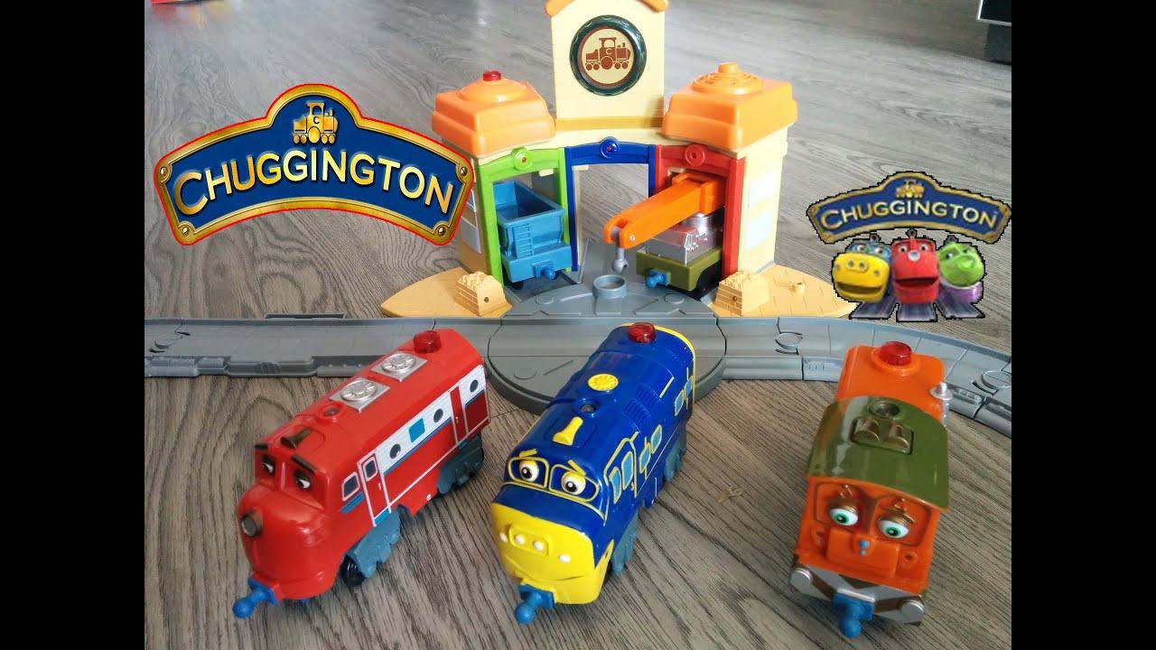 trenes chuggington en espaol juguetes para ni