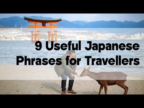 9 Useful Japanese Phrases for Travellers   Japan Video Travel Guide   Hidden Japan