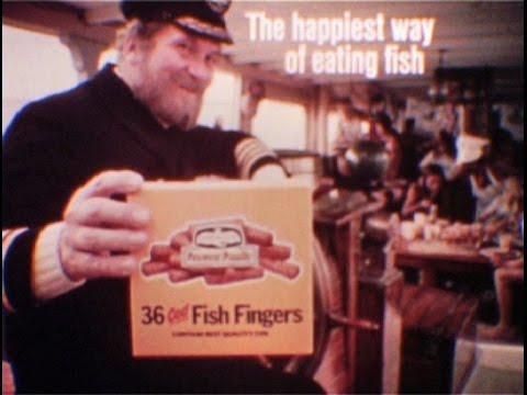 Birds Eye Fish Fingers Ad - Captain Birds Eye (Grub's Up)