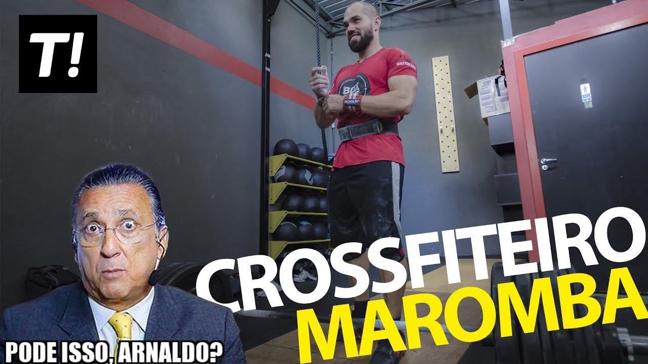 Musculação na aula de CrossFit, Pode isso Arnaldo?