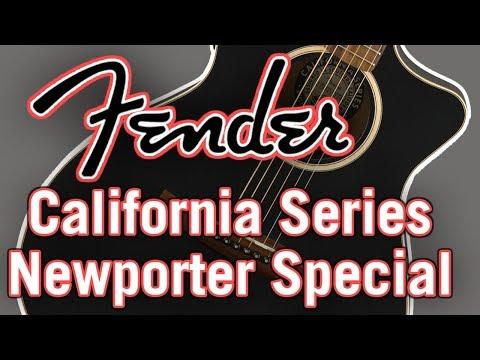 Fender California Series Newporter Special Review & Demo
