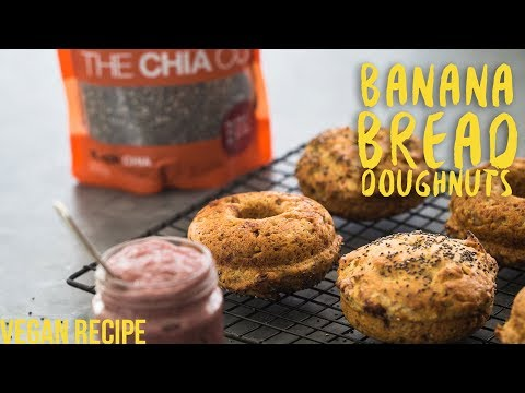 Healthy Banana Bread (Doughnut) Recipe