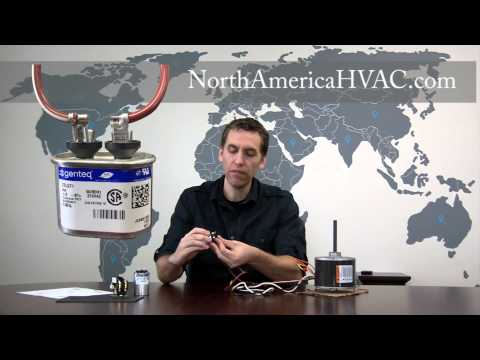 [ANLQ_8698]  How to Wire a 4 Wire AC Condenser Fan Motor - YouTube | Ac Fan Motor Capacitor Wiring |  | YouTube