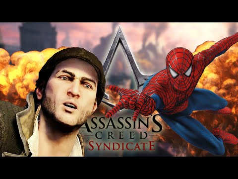SPIDERMAN! - Assassin's Creed Syndicate (Funny Moments) |