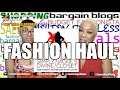 FASHION BARGAIN HAUL FROM SIMPLY DIVINE CONSIGNMENT / JACKIE'S CLOSET