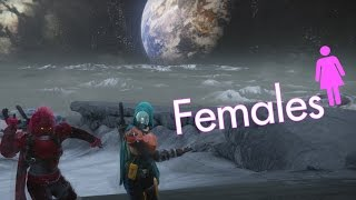 Why I play a female character