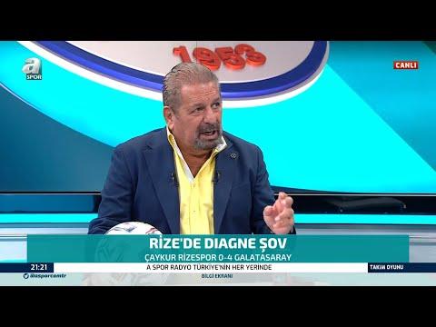 Erman Toroğlu, Galatasaray'ı Öve Öve Bitiremedi! Rizespor 0 - 4 Galatasaray