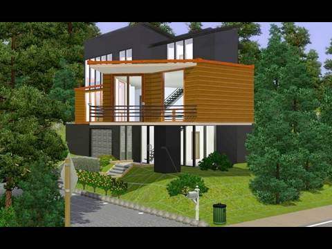 Building the Twilight House in the Sims 3 - YouTube