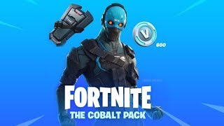 Redeeming Fortnite Cobalt Starter Pack After Being Vaulted!
