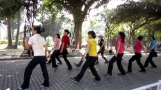 Cha Cha Conchita - Line Dance (Demo & Walk Through) (2nd Upload)